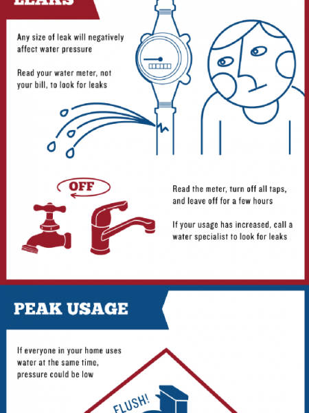 Shoddy Shower Pressure Getting You Down? Signs Your Water Pressure  Needs Fixin'!  Infographic