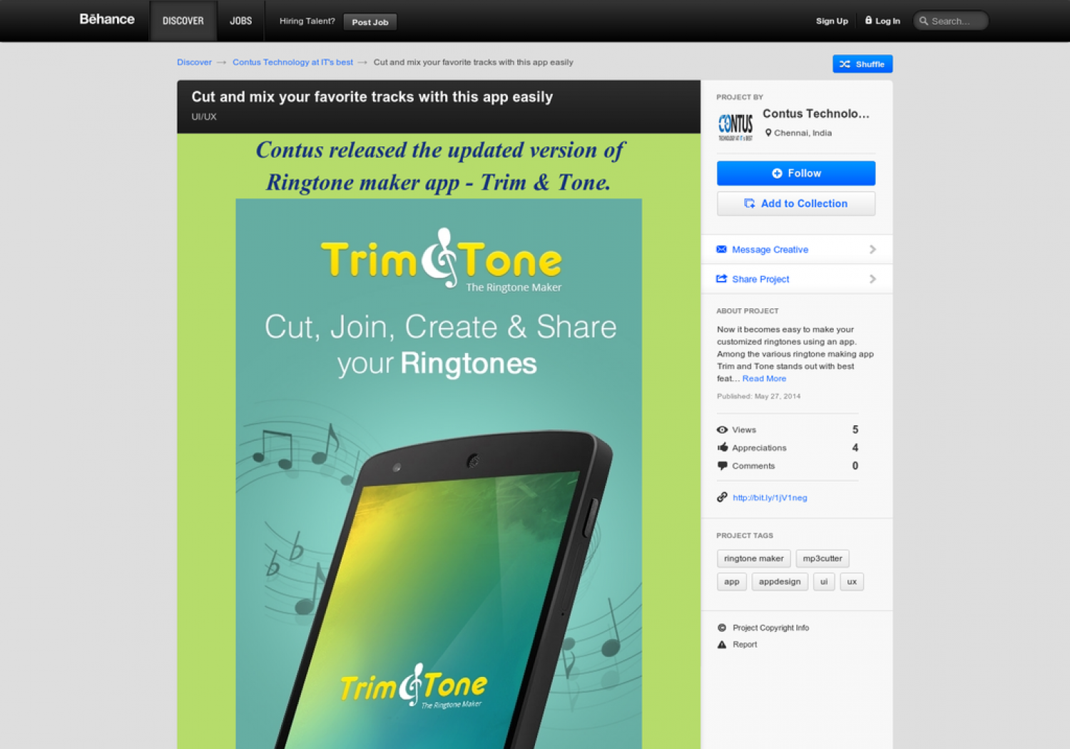 Trim and Tone from Contus Infographic