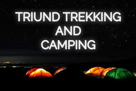 Triund Trekking and Camping - Citywoofer Infographic