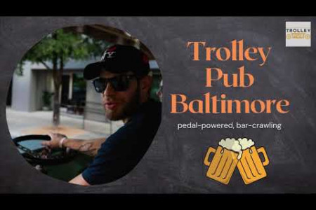 Trolley Pub Baltimore's beer trolley rides Infographic