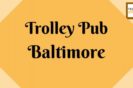 Trolley Pub's pedal bike in Baltimore Infographic