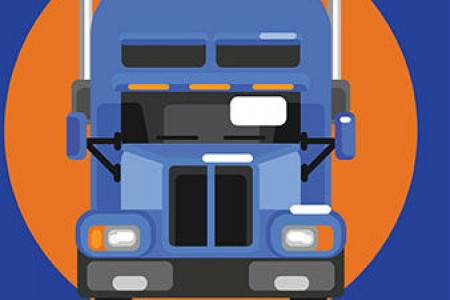 Truck Driver Fatigue Infographic