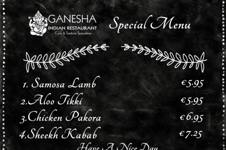 Try! Delicious dishes at one of the best place in Amsterdam. Enjoy authentic food in Indian Restaurant Ganesha who serves all dishes with a well in manner. Infographic