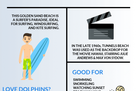 Tunnels Beach: How to Explore the Secluded Makua Beach Infographic
