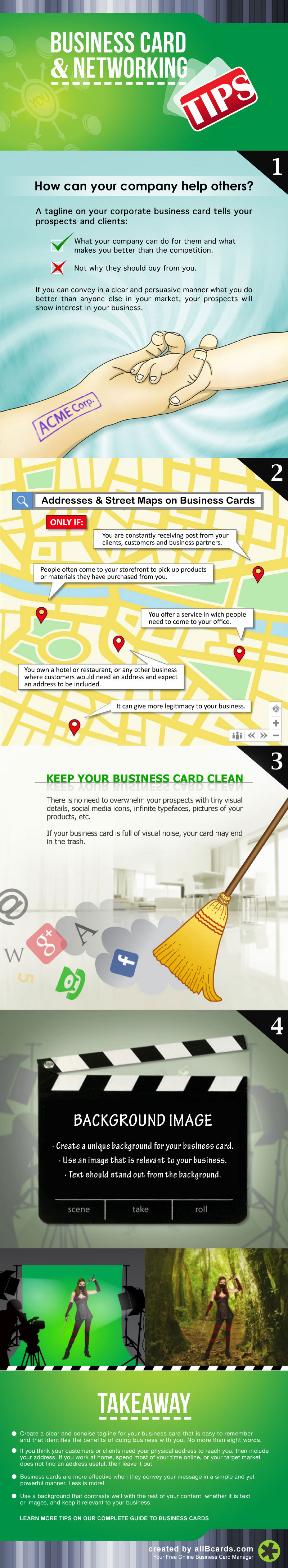 Turn Your Business Cards into Valuable Relationships Infographic