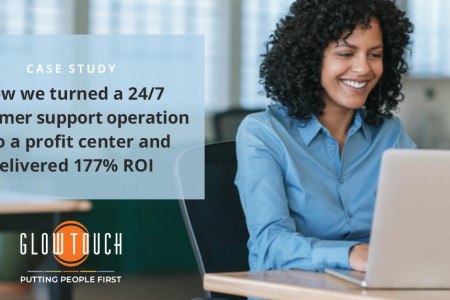 Turn your customer support operation into a profit center Infographic