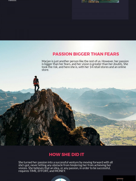 Turning Passion into Success Infographic