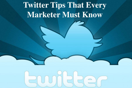 Twitter Tips That Every Marketer Must Know Infographic