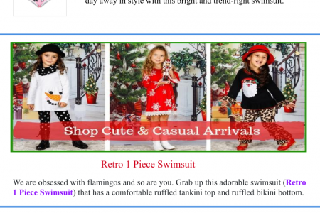 Two Piece Swimsutis for Girls Infographic