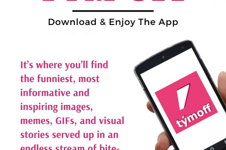 Tym Off | Download & Enjoy The App Infographic