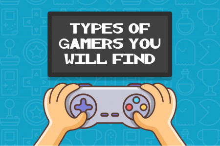 Type Of Gamers You Will Find Online Infographic