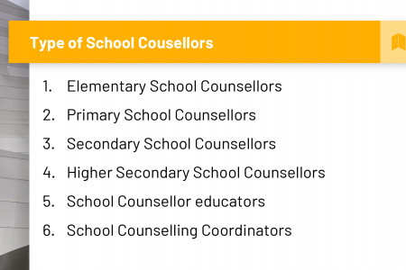 Type of School Counselors Infographic