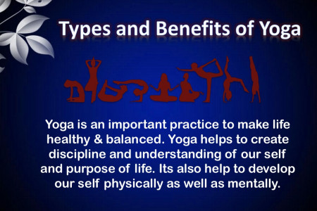 Types & Benefits of Yoga Infographic