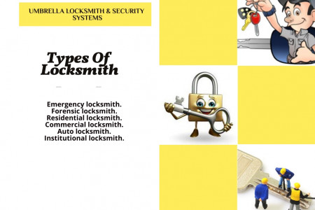 Types of Locksmith-Home improvement tips Infographic