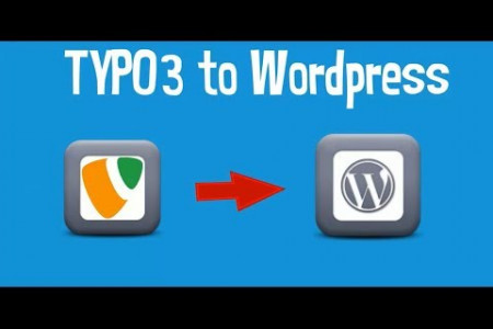 TYPO3 to WordPress Migration Guide Infographic