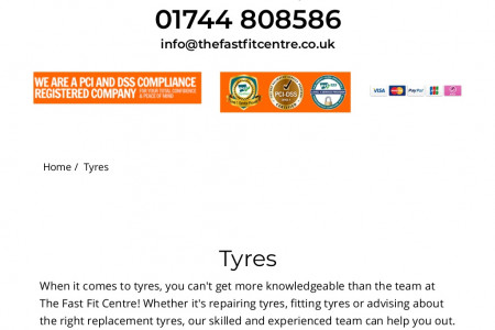 Tyre deals, fitting and repairs from St Helens tyre shop the Fast Fit Centre Infographic