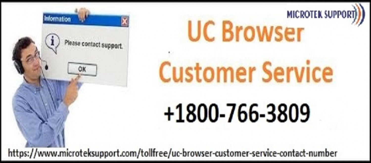 UC Browser Customer Service | Call TollFree Infographic