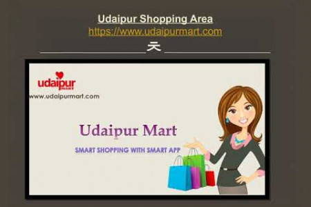Udaipur Shopping Infographic