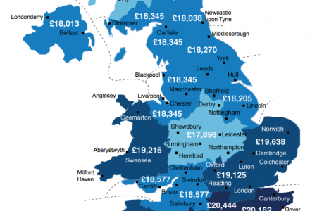 UK Solar PV Earnings by Region  Infographic