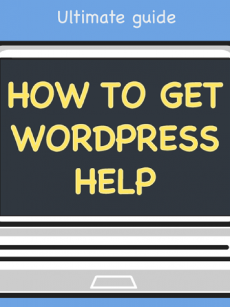 Ultimate guide how to get WordPress Help Infographic