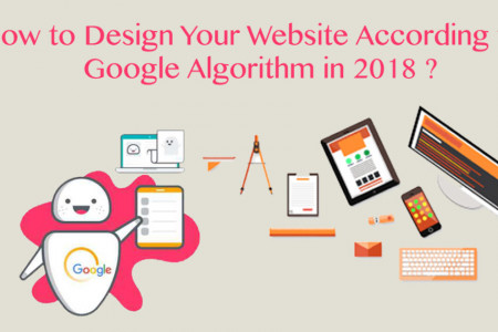 Ultimate Guide to design and develop your Website According to the Google Algorithm in 2018 Infographic