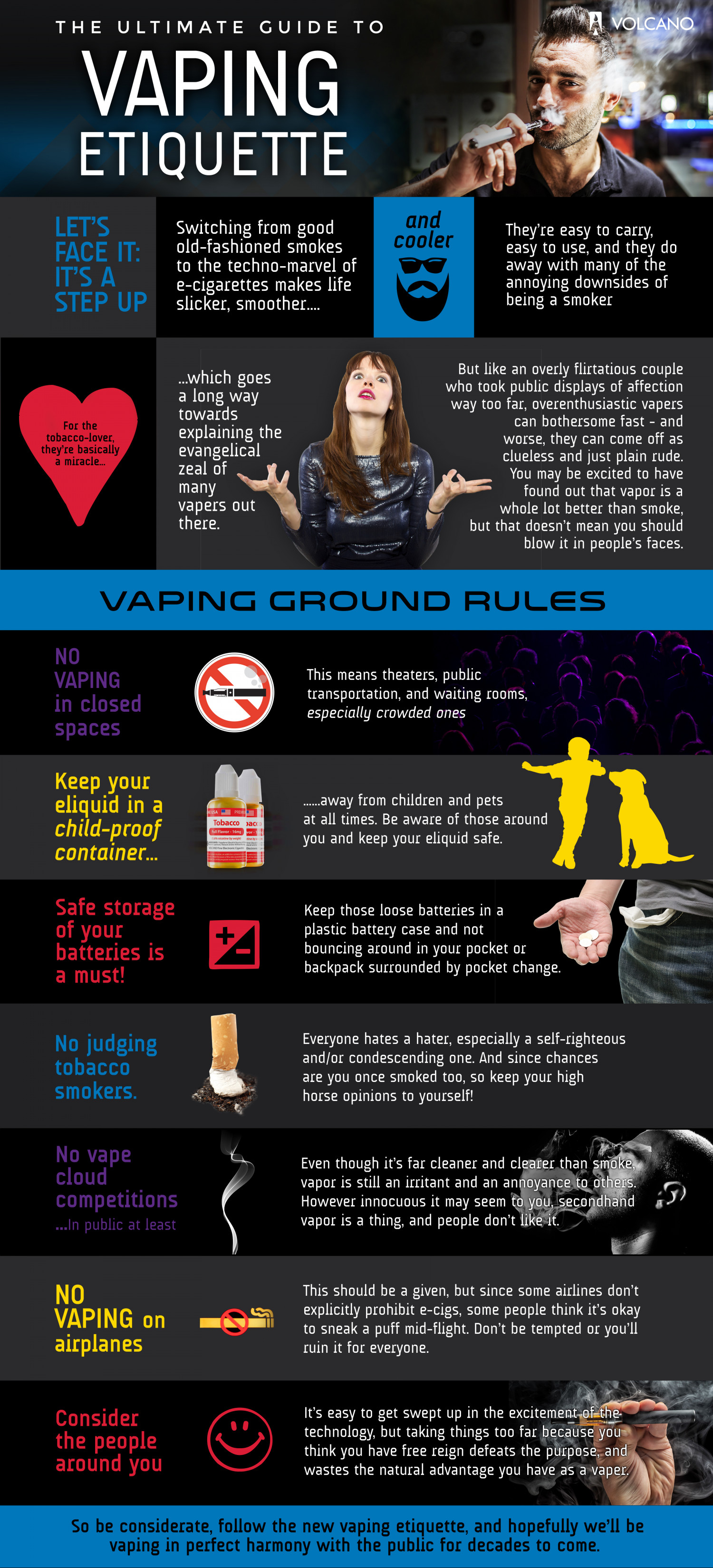 Ultimate Guide to Vaping Etiquette Infographic