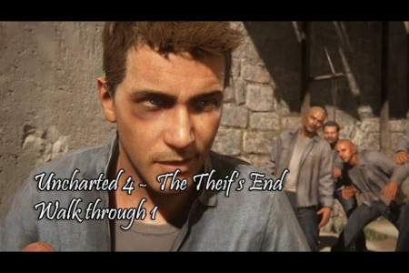 Uncharted 4 A Theif's Ends New Walkthrough Gameplay Part 1 Infographic