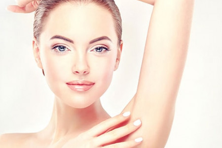 Underarm Laser Hair Removal at Rs.99 Only Infographic