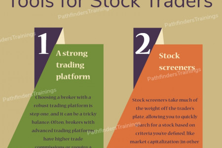 Understand the Tools for Stock Traders- Pathfinders Trainings Infographic