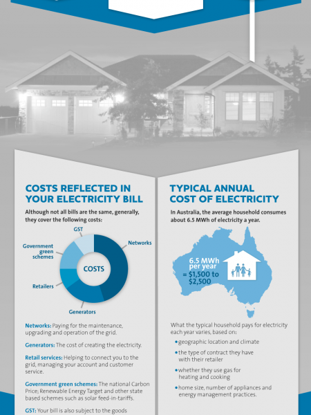 Understanding Electricity Costs Infographic
