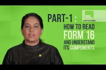 Understanding Form 16 & Its Components Infographic