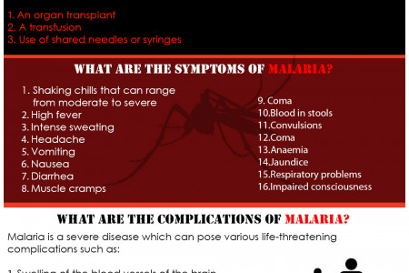 Understanding the Causes, Symptoms and Treatment of Malaria Infographic