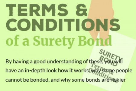 Understanding the Terms and Conditions of a Surety Bond Infographic