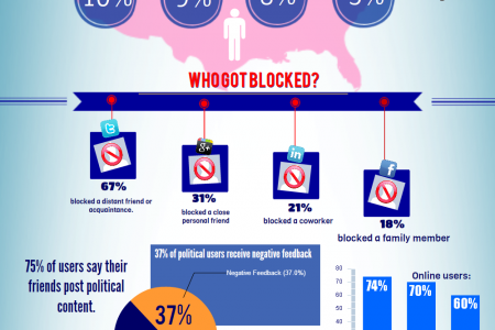 Unfriending for Politics: Company Stocks and Social Media Suicide Infographic