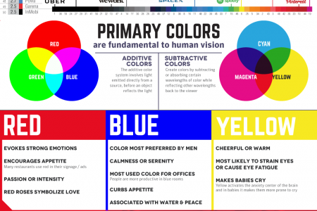 Unicorn Companies: How They Choose Their Colors Infographic