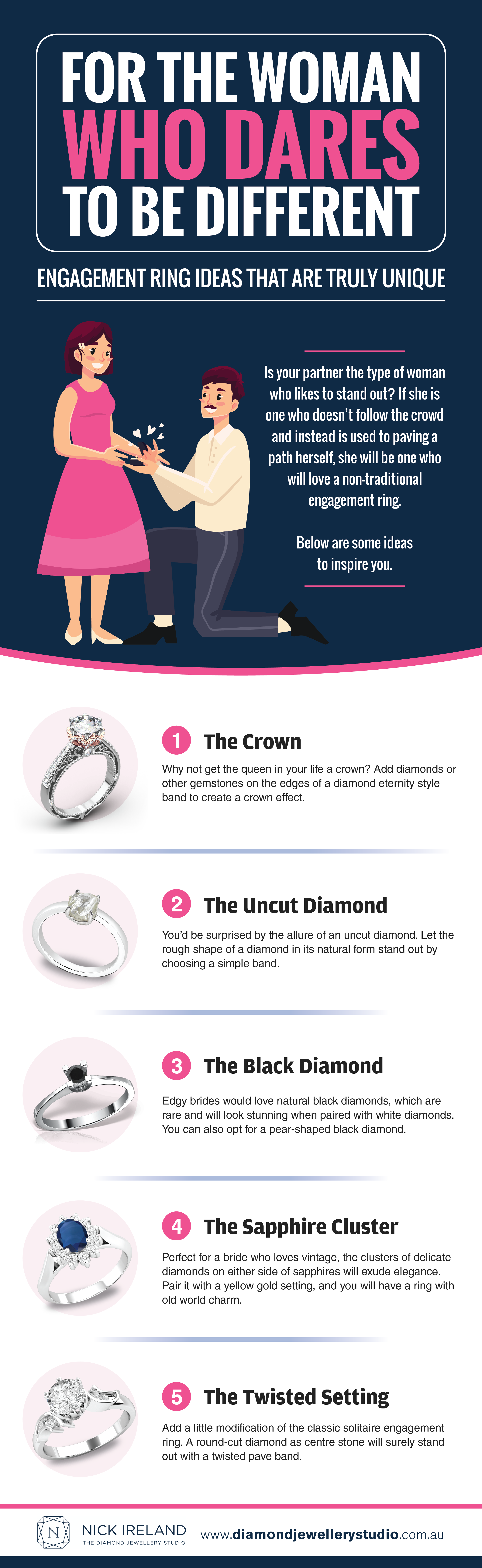 Get Inspired With These Unique Engagement Ring Ideas