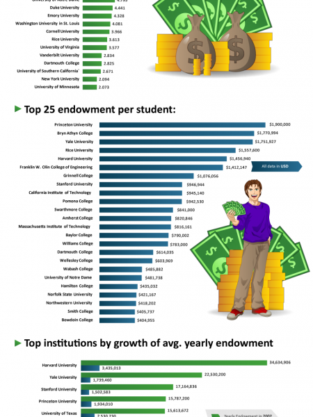 University Endowments Infographic