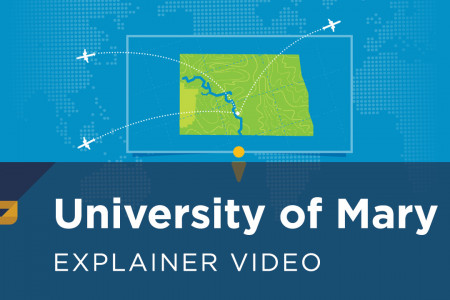 University of Mary: Year 'Round Campus Infographic