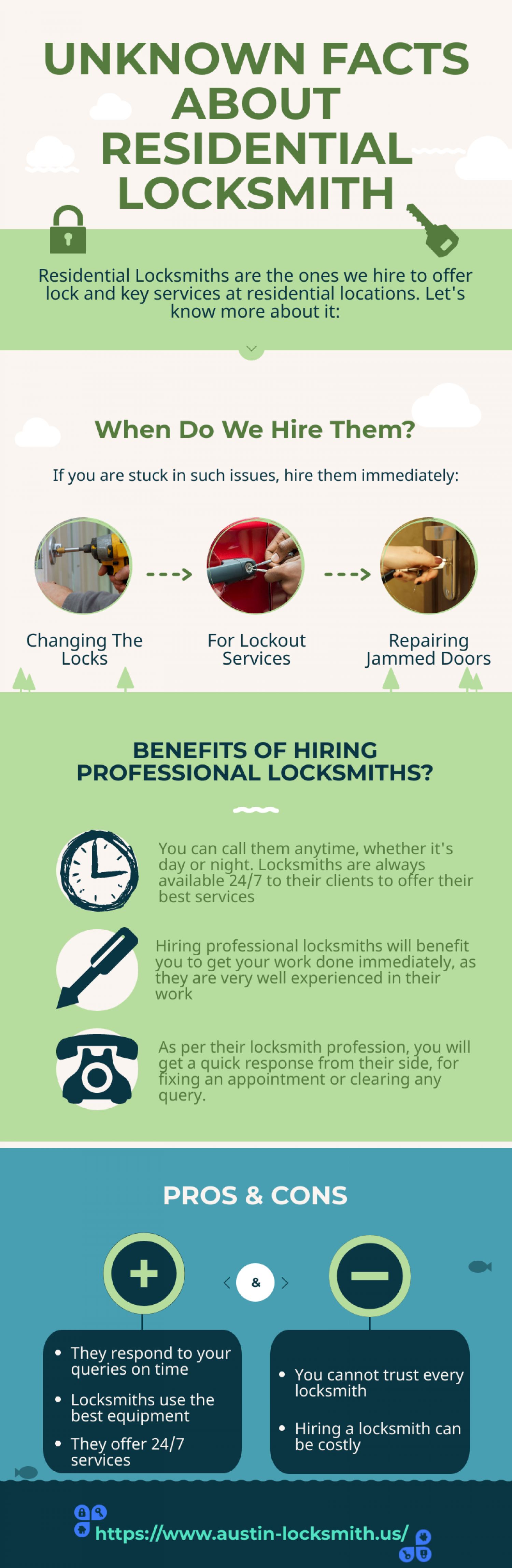 UNKNOWN FACTS ABOUT RESIDENTIAL LOCKSMITH Infographic