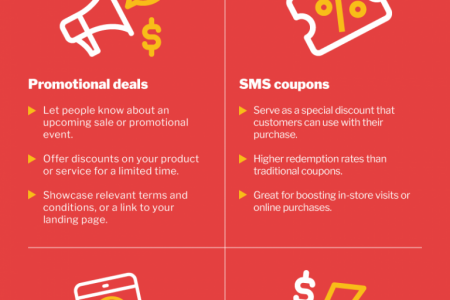 Unlocking the Power of SMS Marketing Infographic