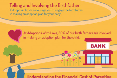 Unplanned Pregnancy and Adoption Infographic