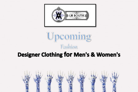 Upcoming Fashion Designer Clothing for Men's & Women's | La Boutik Infographic