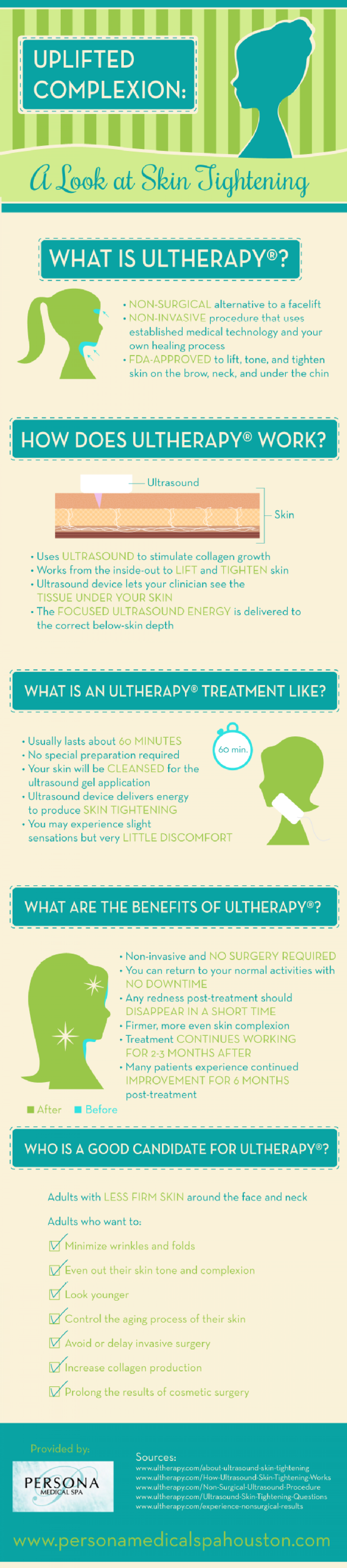 Uplifted Complexion: A Look at Skin Tightening  Infographic
