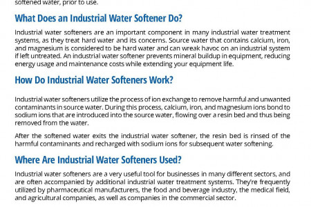 Industrial Reverse Osmosis Systems Infographic