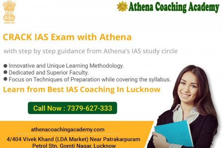 UPSC IAS/PCS Coaching in Lucknow Infographic