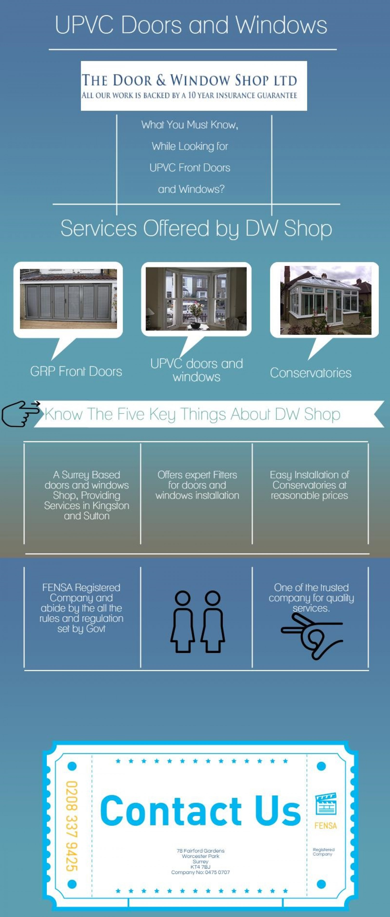 UPVC Doors and Windows in Kingston Sutton Infographic  sc 1 st  Visually & UPVC Doors and Windows in Kingston Sutton | Visual.ly