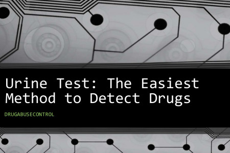 Urine Test: The Easiest Method to Detect Drugs Infographic