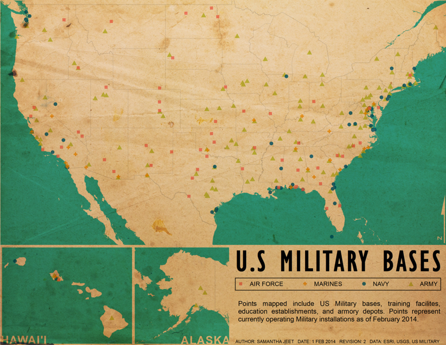 us military bases infographic
