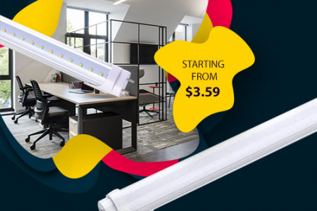 Use T8 LED Tube Light Fixtures For Indoors Infographic