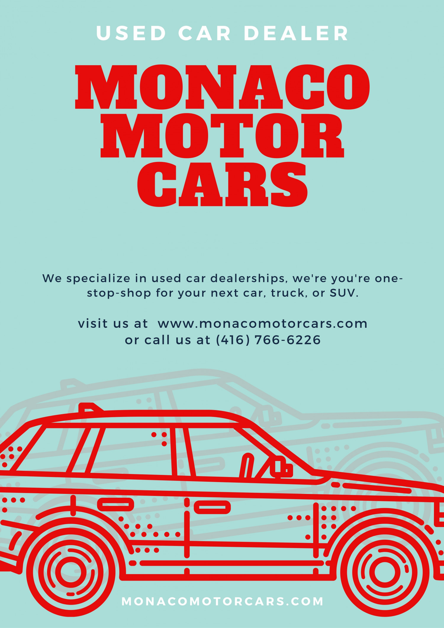 Used Car Dealerships in Toronto Infographic